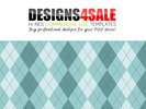 Thumbnail Argyle Pale Blue Pattern For Sale