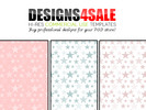 Thumbnail Double Stars Pastels + Bonus White Patterns For Sale