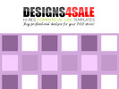 Thumbnail Fair And Square Purple Pattern For Sale