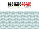 Thumbnail Chevron Pastel Blue Pattern For Sale