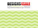 Thumbnail Chevron Lime Green Pattern For Sale