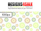 Thumbnail Summery Flowers Pastel Pattern For Sale