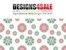 Thumbnail Cute Flowers Pastel Pattern For Sale