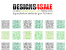 Thumbnail Reduce Reuse Recycle Pattern For Sale