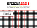 Thumbnail Black Plaid Pattern For Sale