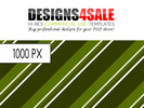 Thumbnail Retro Stripes Green Pattern For Sale