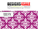 Thumbnail Elegant Vintage Wallpaper Pattern For Sale