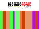 Thumbnail Neon Stripes Pattern For Sale (2)