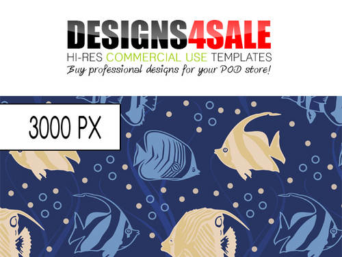 Product picture Sea Fish Pattern For Sale
