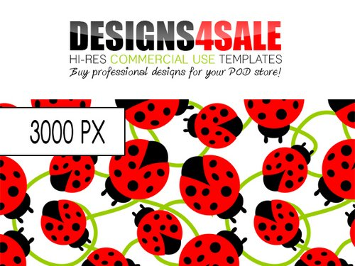 Product picture Ladybug / Ladybird Pattern For Sale