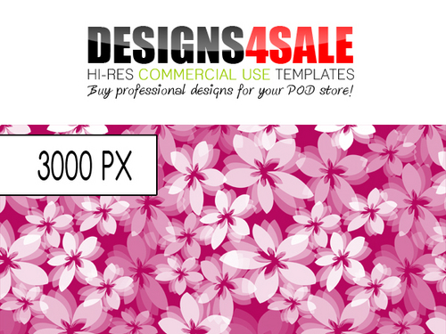 Product picture Flower Burst White Pattern For Sale