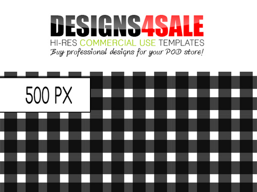 Product picture Gingham Check Black Pattern For Sale