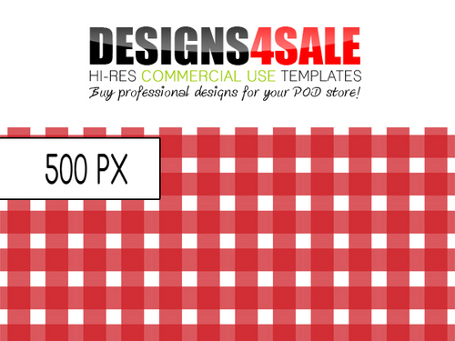 Product picture Gingham Check Red Pattern For Sale