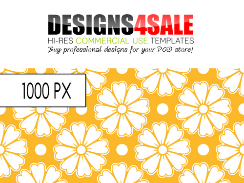 Product picture Flower Stickers Pattern For Sale