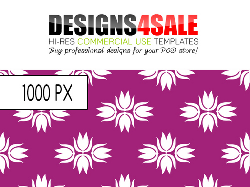 Product picture Retro Floral Wallpaper Pattern For Sale