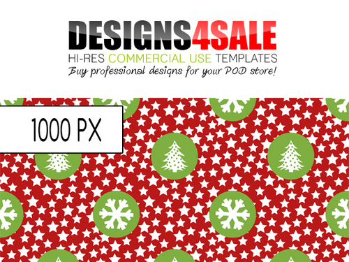 Product picture Fun Christmas Pattern For Sale